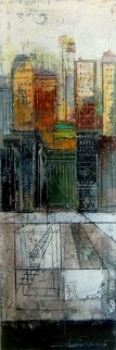 Progression 2014 30x10 Original Painting by Alex Zwarenstein