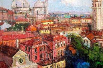 Venice Light 2014 Italy 18x24 Original Painting by Alex Zwarenstein